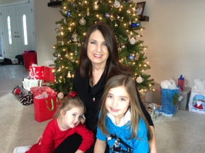 Christmas 2012 - enjoying my normal hair, my comfortable clothes and my wonderful family